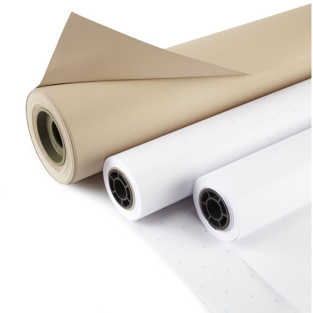 WTBP65 165cm White Protection Paper 18gsm x 1050m-699
