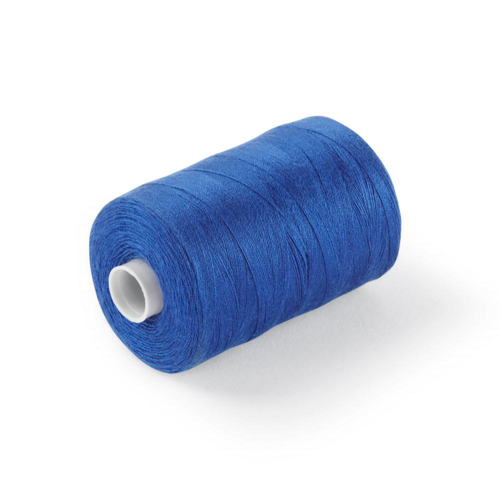 120's Spun Poly Thread Royal Blue Box of 10