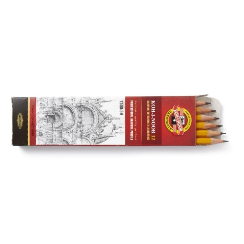 3H Drawing Pencils - pack of 12