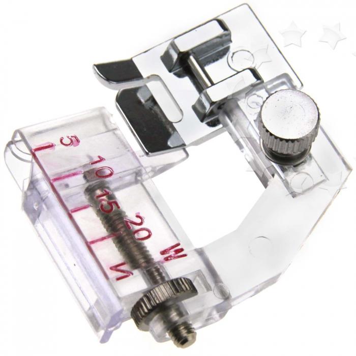 Adjustable Bias Presser Foot Tape Binding Binder -0
