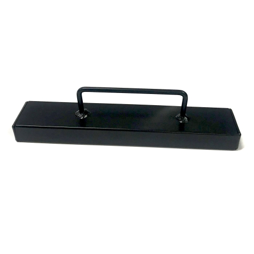 "Black Cloth Weight 9"" x 2"""