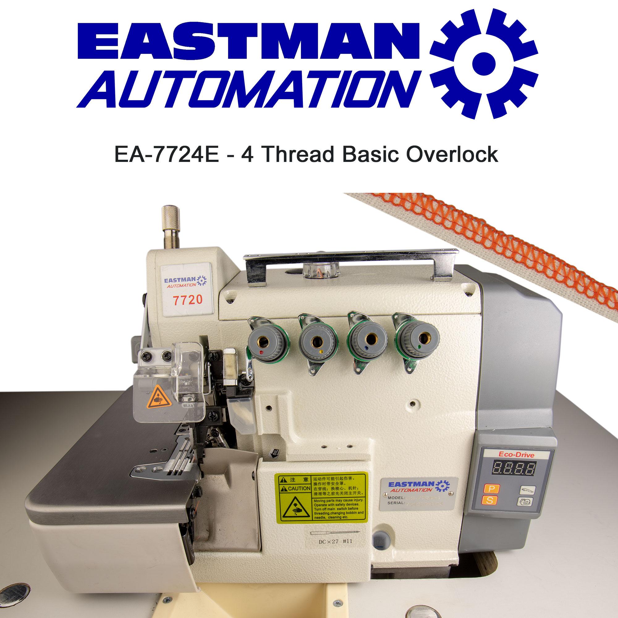 EA 7724E 4 Thread Basic Overlock Alan Godrich Sewing