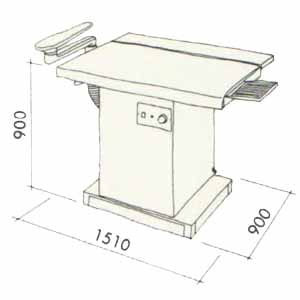 TCA-88 Suction Table