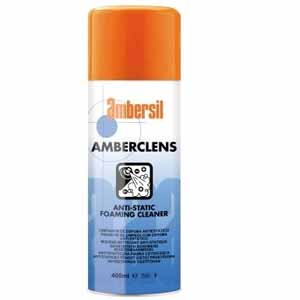 AMBERSIL AMBERCLENS ANTI STATIC FOAMING CLEANER 400ml