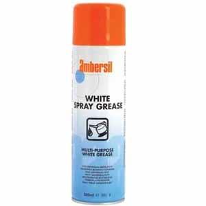 AMBERSIL WHITE SPRAY GREASE 500ml